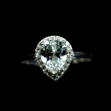 Ασημένιο 925 μονόπετρο ζιργκόν δαχτυλίδι ! - Silver Family 8923c6fba9d
