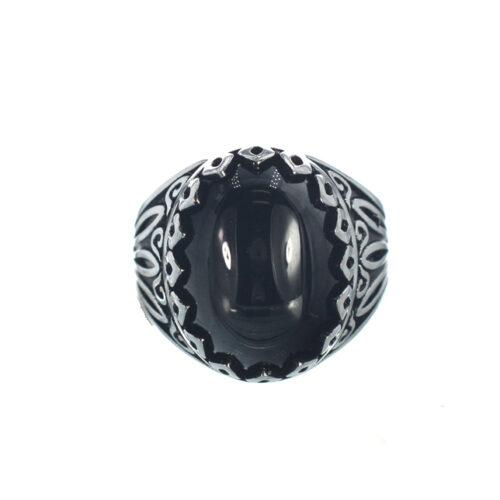 Ασημένιο 925 δαχτυλίδι με αιματίτη