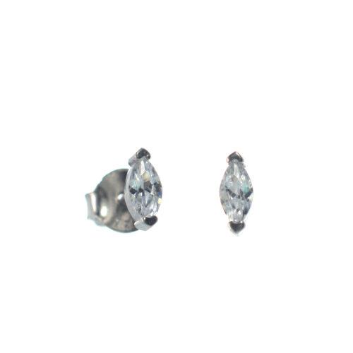 Ασημένια 925 σκουλαρίκια καρφωτά