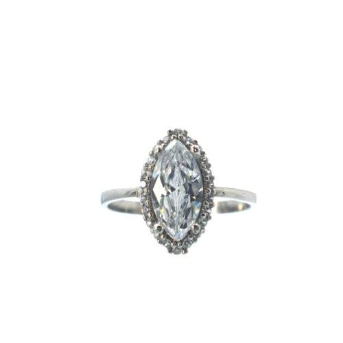 μονόπετρο ζιργκόν δαχτυλίδι