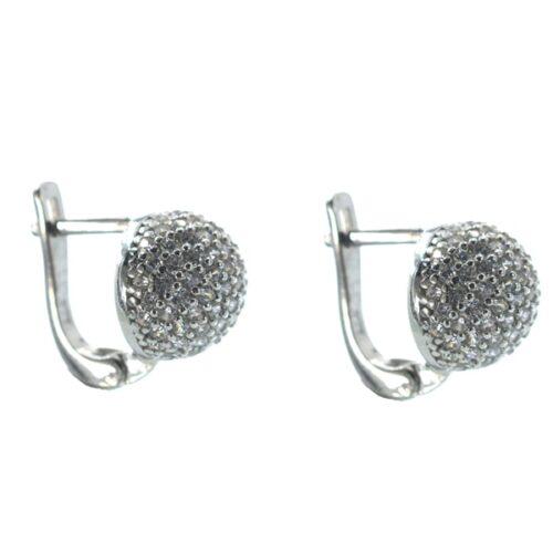 Ασημένια 925 σκουλαρίκια κρεμαστά