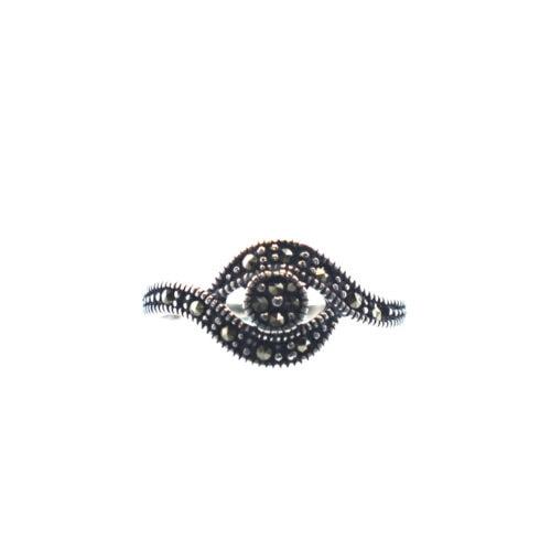 Παραδοσιακό γιαννιώτικο ασημένιο 925 μαρκασίτη δαχτυλίδι