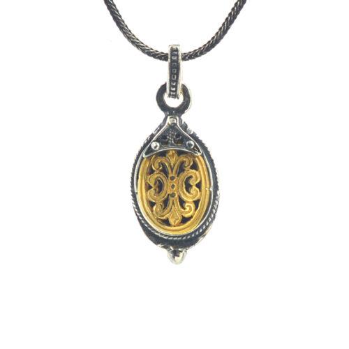 Ασημένιο 925 βυζαντινό κολιέ