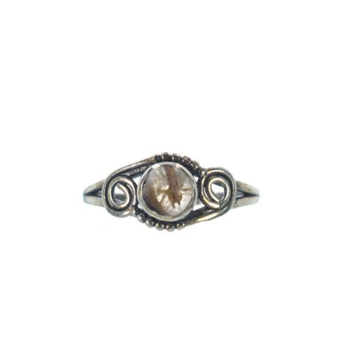 Ασημένιο 925 δαχτυλίδι με αχάτη