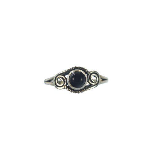 Ασημένιο 925 δαχτυλίδι με όνυχα