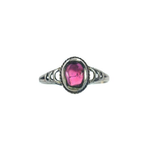 Ασημένιο 925 δαχτυλίδι με γρανάδα
