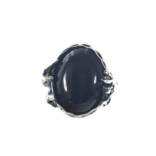 Ασημένιο 925 χειροποίητο δαχτυλίδι με όνυχα