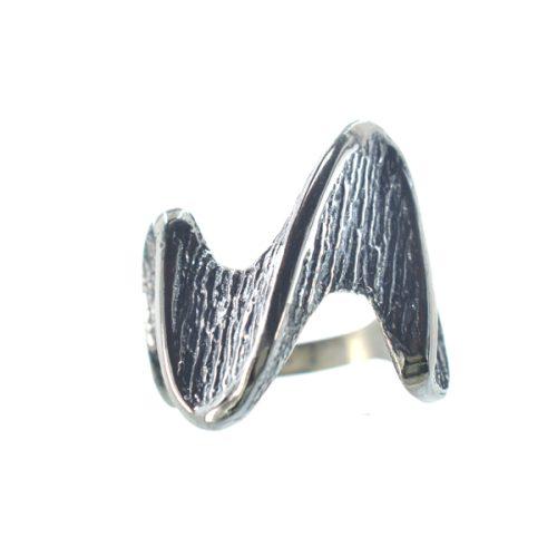 Ασημένιο 925 χειροποίητο σκαλιστό δαχτυλίδι